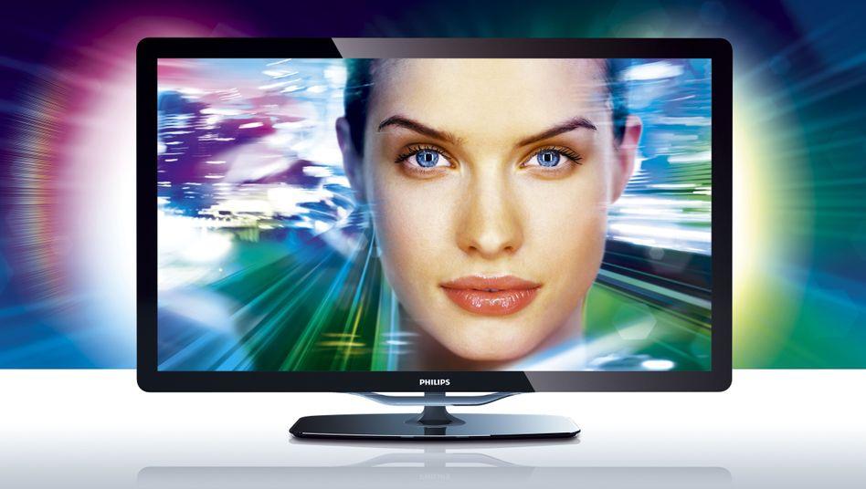 Verlust verachtfacht: Die TV-Sparte und Philips hat ihr Minus noch einmal kräftig ausgeweitet. Sie steht zum Verkauf