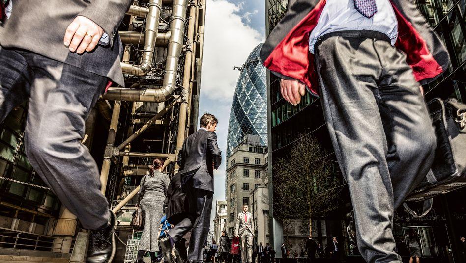 Zentrum der Bankenwelt: London ist der größte Exporteur von Finanzdienstleistungen. Mehr als 200 ausländische Banken haben Ableger an der Themse.