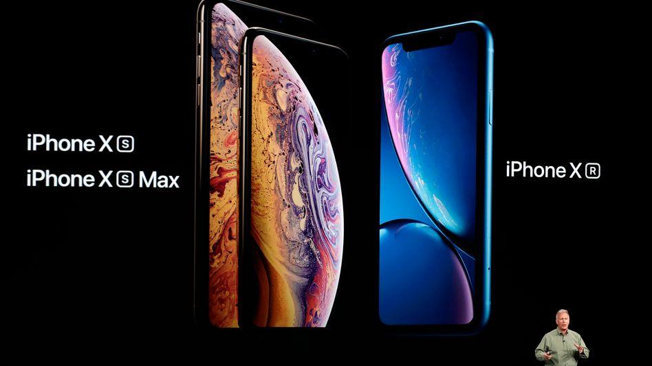 Apples neue iPhones: Xs, Xs Max und Xr