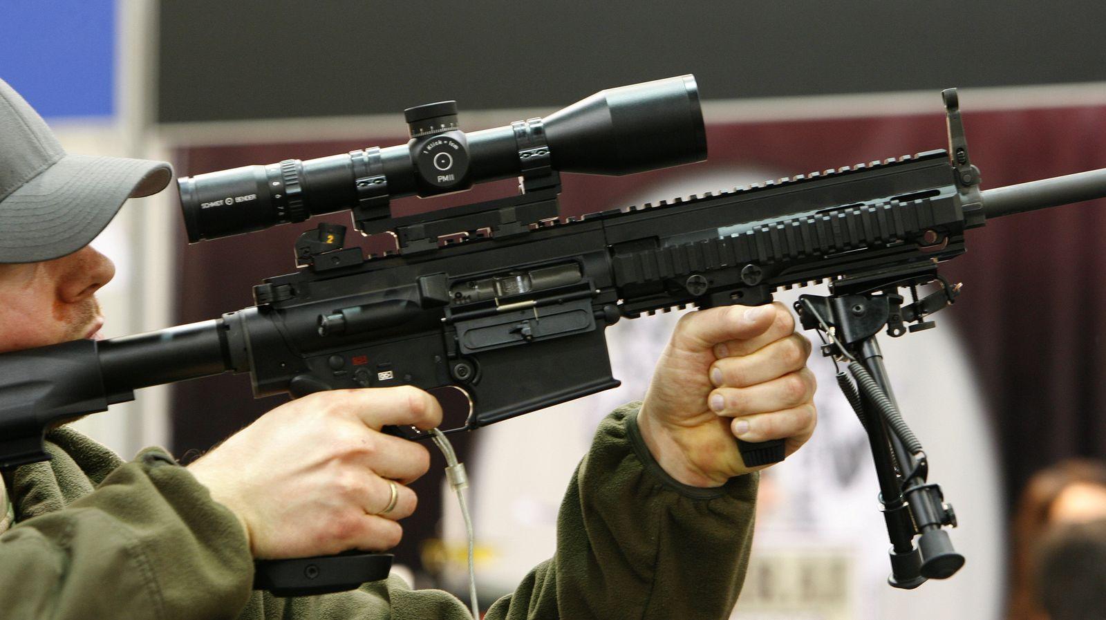Exportgenehmigungen für deutsche Kleinwaffen deutlich gestiegen