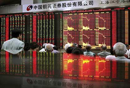 Nervensache: Die Shanghaier Börse zuckt zwischen Euphorie und Angst