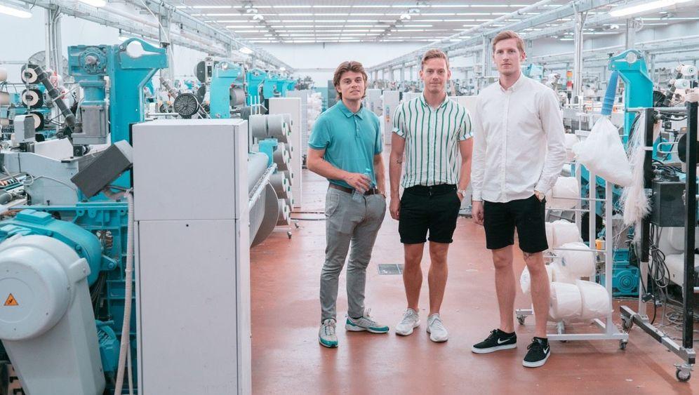 Haben die Hosen an: Christoffer Bak, Christian Aachmann, Kasper Ulrich (v. l.)
