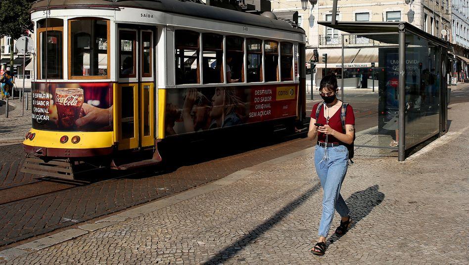 Passantin in Lissabon