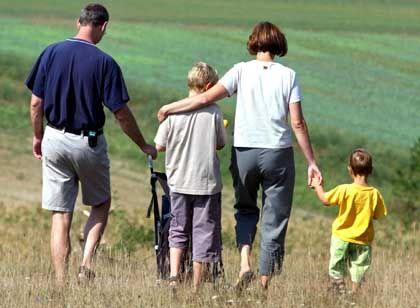 Familie mit Kindern: Für Versicherte kann es teuer werden