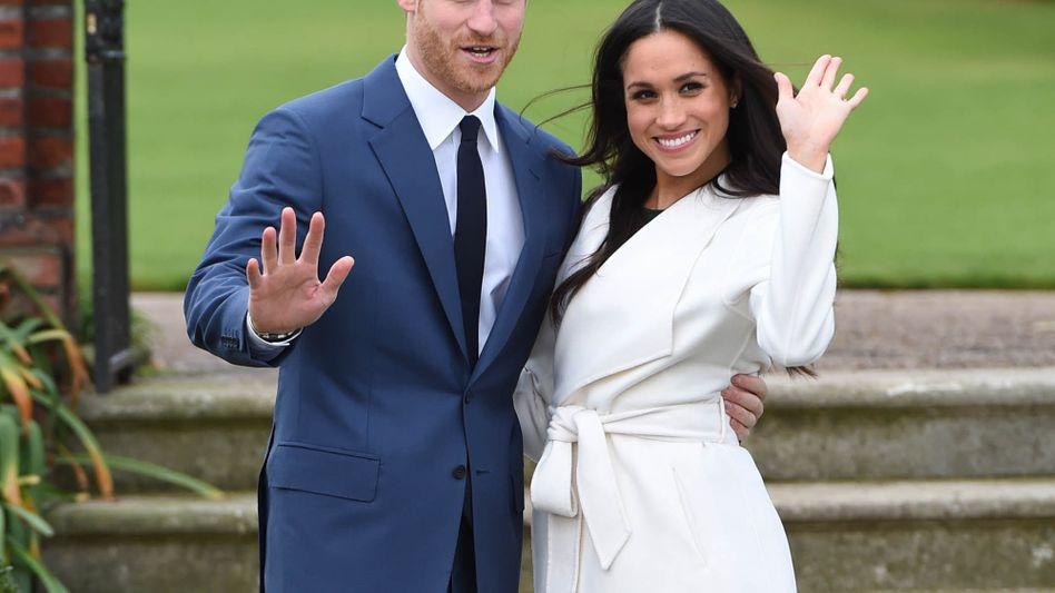 So leger zeigten sich Prince Harry and Meghan Markle bei ihrer Verlobung