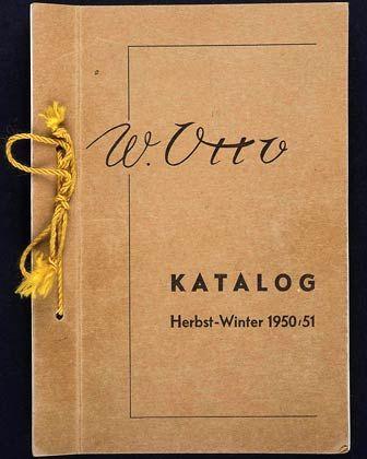 """Der erste Otto-Katalog: """"Wer statisch denkt und aus Angst vor Fehlern keinen Schritt nach vorn wagt, der sollte kein Unternehmer werden"""""""