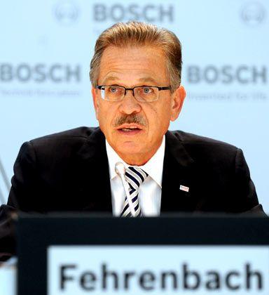 """Bosch-Chef Fehrenbach: """"Insgesamt könnte es noch bis 2012 dauern, bis wir das Niveau von 2007 wieder erreicht haben"""""""