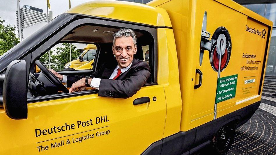 Schritttempo: Post-CEO Frank Appel sucht die Ausfahrt.
