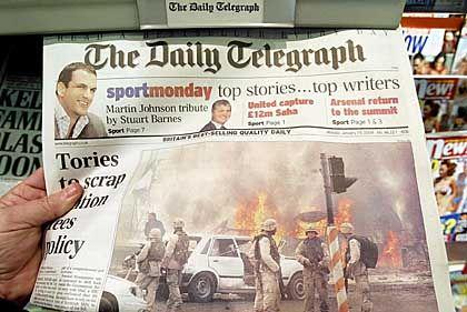 """""""The Daily Telegraph"""": Der Bieterpreis soll inzwischen bei rund einer Milliarde Euro liegen"""