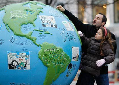 Globales Problem: Der Erderwärmung lässt sich nur gemeinsam Herr werden