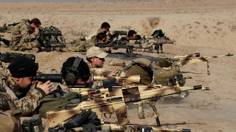 Bundeswehr in Afghanistan: Ende 2011 sollen die Truppen abziehen