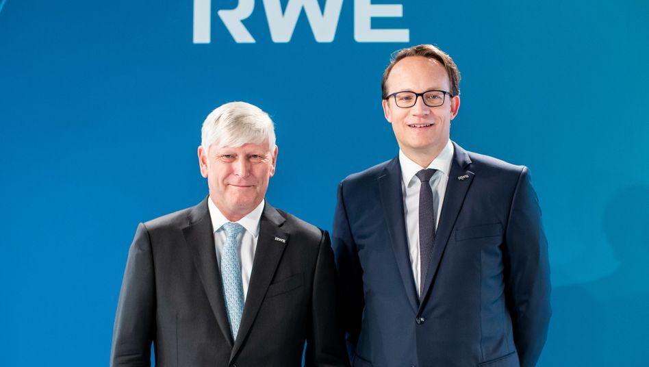 RWE: Markus Krebber folgt auf Martin Schmitz (links)
