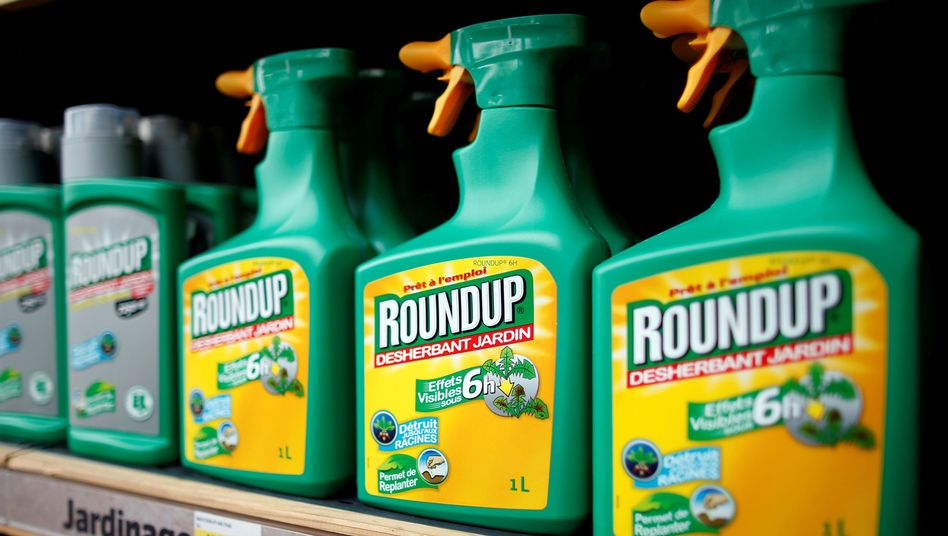 Das umstrittene Unkrautvernichtungsmittel Roundup enthält Glyphosat