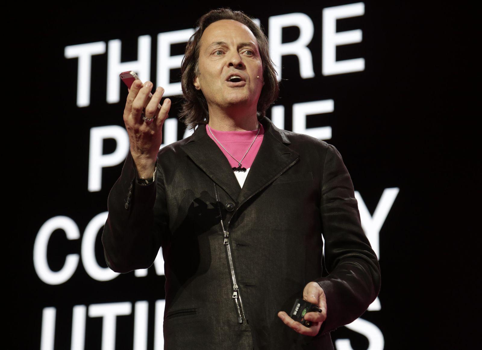 John Legere; T-Mobile CEO USA
