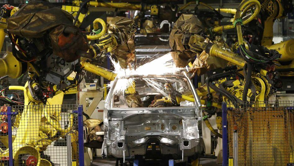 Produktion des Peugeot 208: General Motors steigt bei Peugeot aus, die Kooperation wird drastisch reduziert, die gemeinsame Entwicklung von Kleinwagen zum Beispiel entfällt