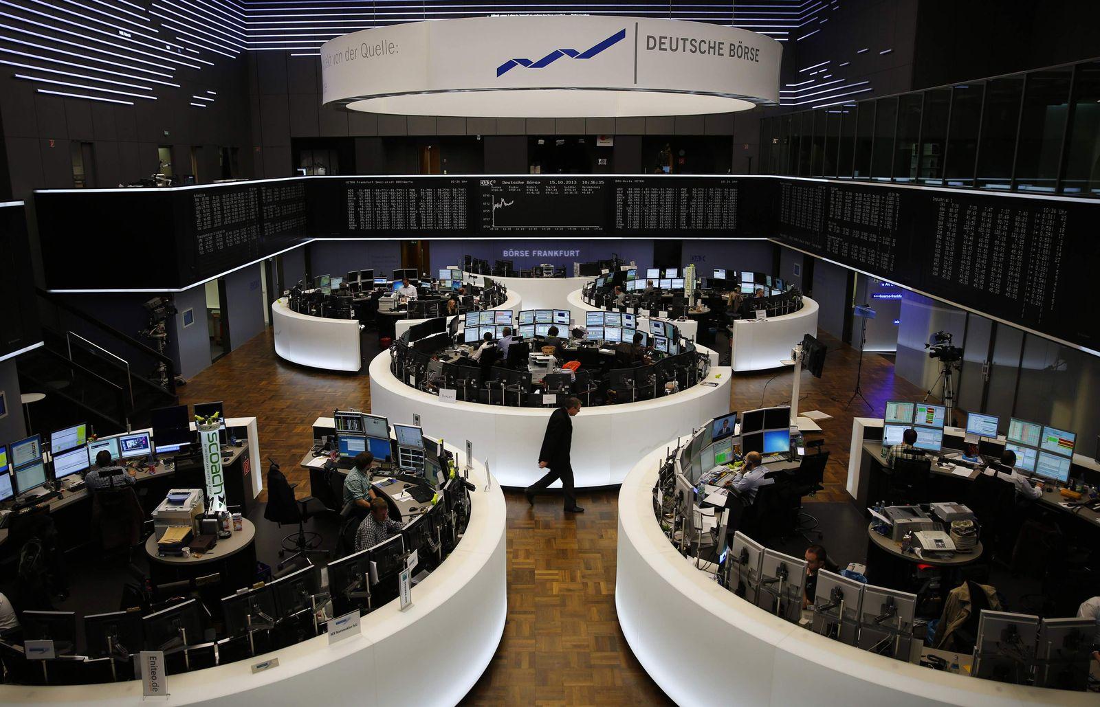 Dax / Deutsche Börse Frankfurt / Anleger / Aktien