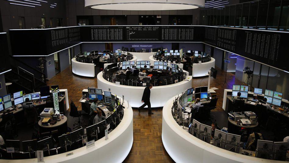 Handelssaal: Der Dax hat auf Wochensicht knapp 2 Prozent verloren
