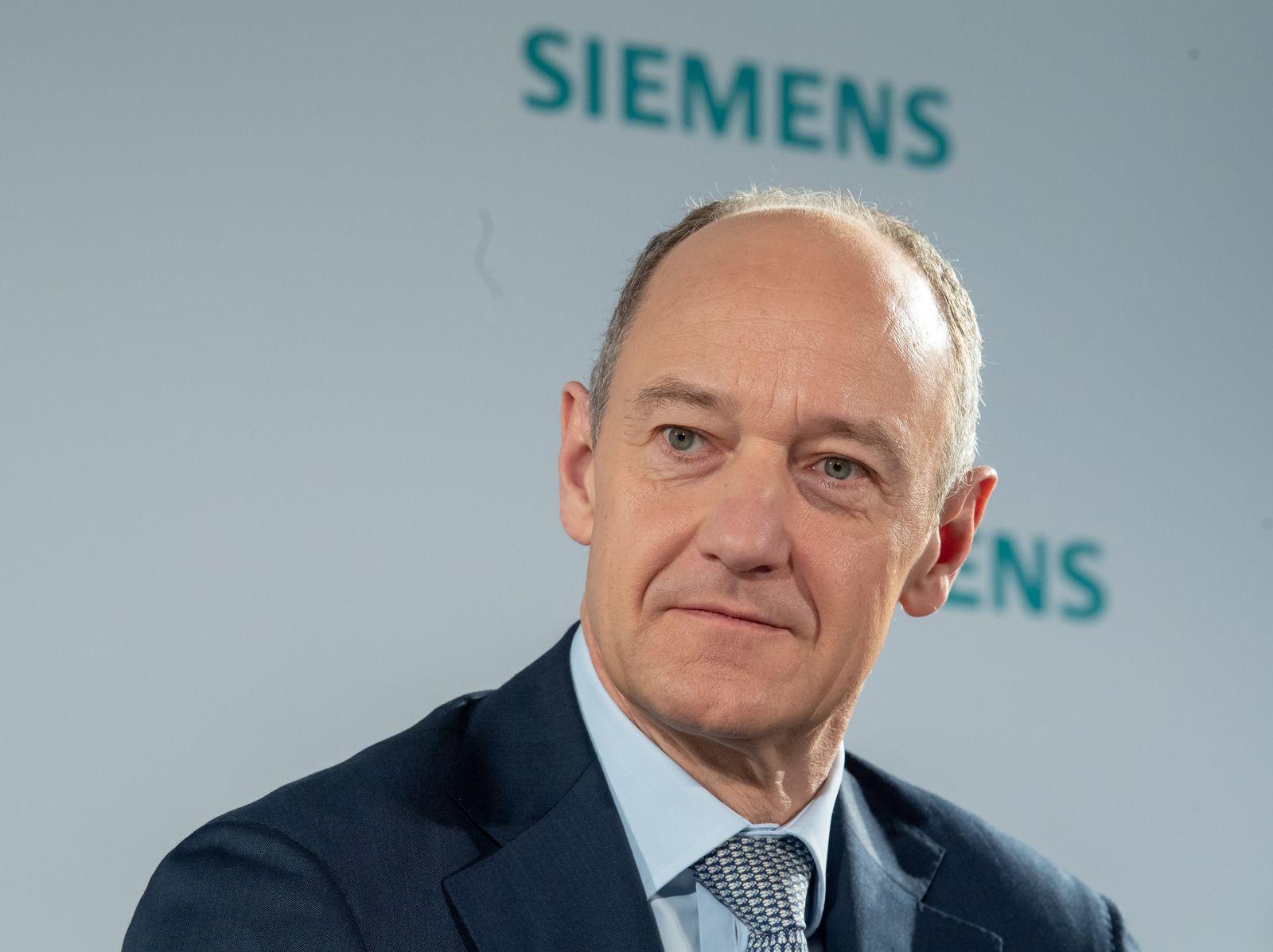 Siemens-Chefsessel