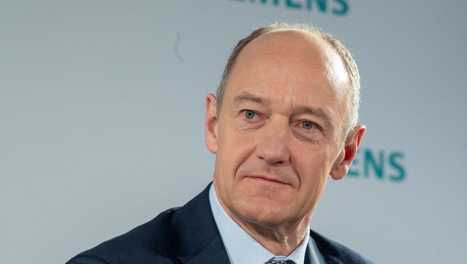 Roland Busch übernimmt im Februar den Chefposten bei Siemens