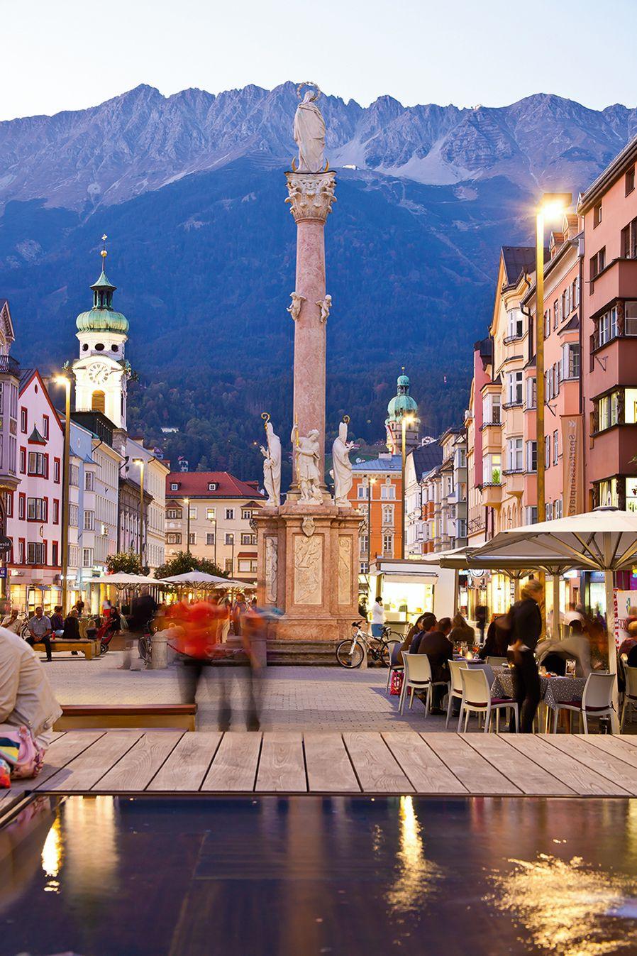 EINMALIGE VERWENDUNG Maria-Theresien-Straße; Innsbruck