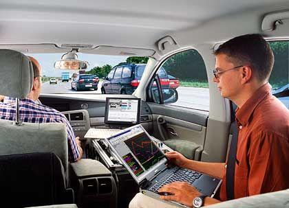 Wie die Tester unterwegs sind: Bosch verwendet 7,3 Prozent des Umsatzes für Forschung und Entwicklung