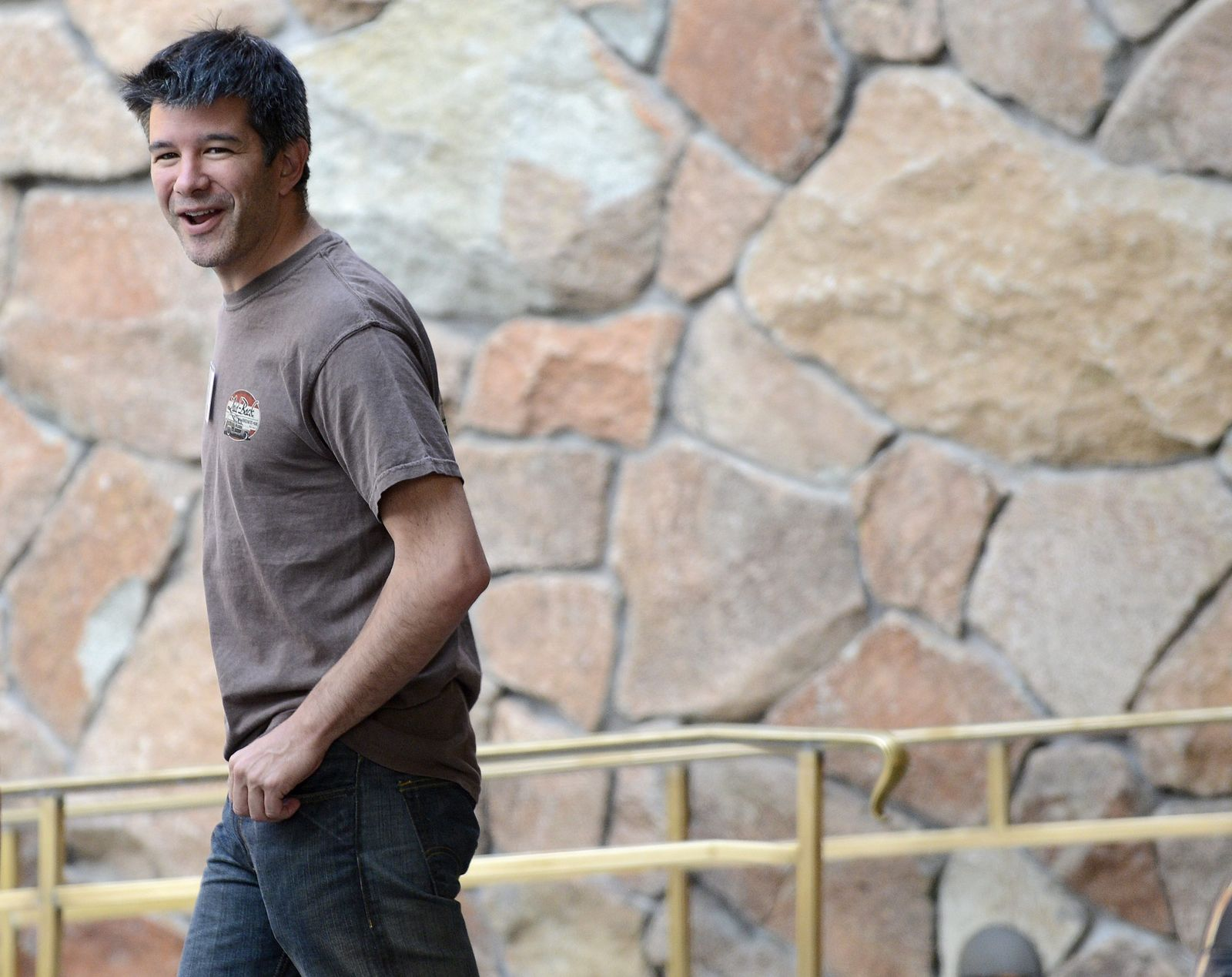 Travis Kalanick; CEO Uber