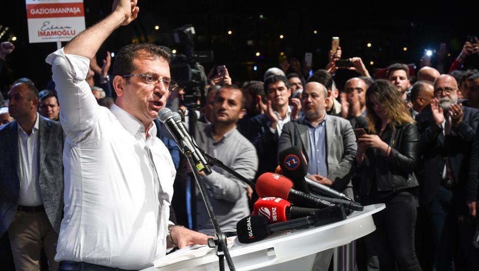 """Ekrem Imamoglu in Istanbul: """"Ihr werdet sehen, wir werden gewinnen"""""""