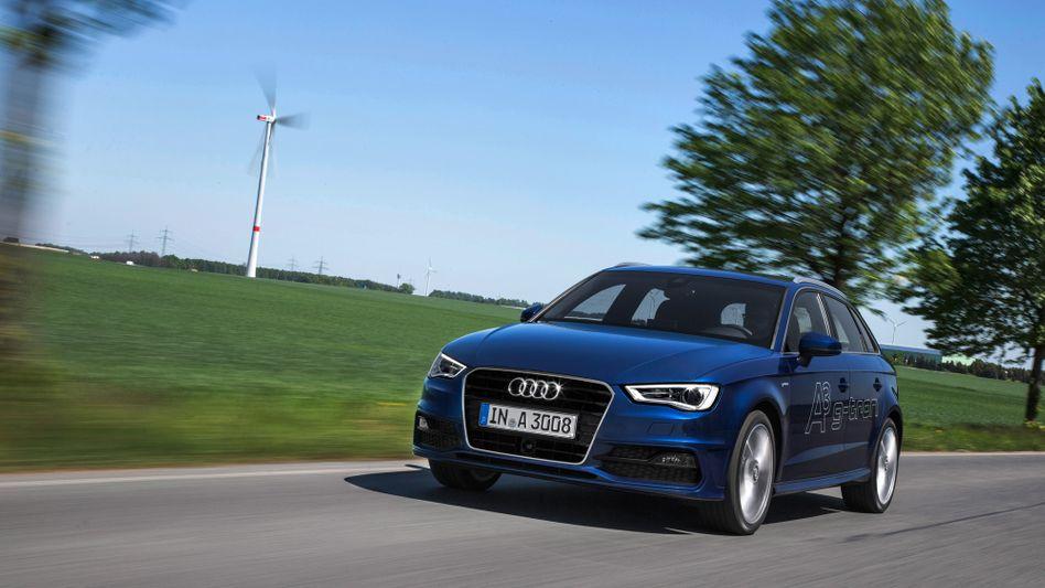 Audi A3 g-tron: Mit synthetischem Erdgas kann das Auto künftig CO2-neutral fahren