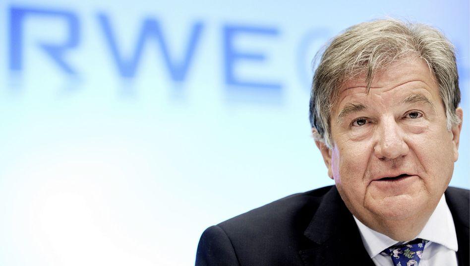 Verhandlungen in Moskau beendet: RWE-Chef Jürgen Großmann