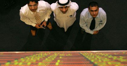 """Starkes Ehrgefühl"":Händler an der Börse in Dubai"