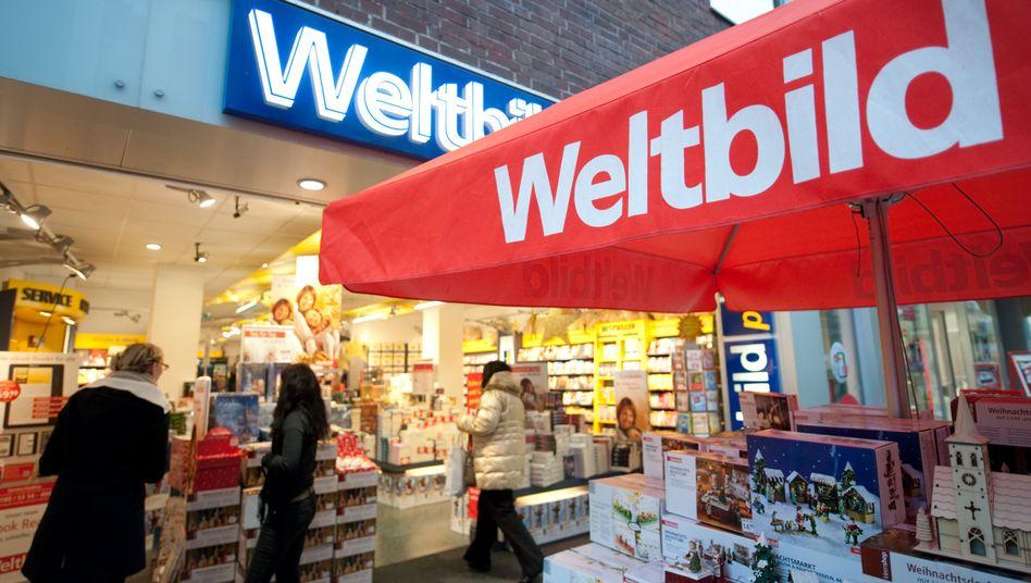 Weltbild-Filiale: Lediglich das Onlinegeschäft der Buchhandelskette könnte übrig bleiben