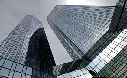 Die Deutsche Bank hat sich für 2005 hohe Ziele gesetzt