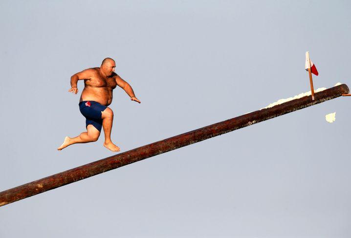 Sie müssen nicht dünn sein, um sich Sportler nennen zu dürfen. Nur Sport müssen Sie machen.