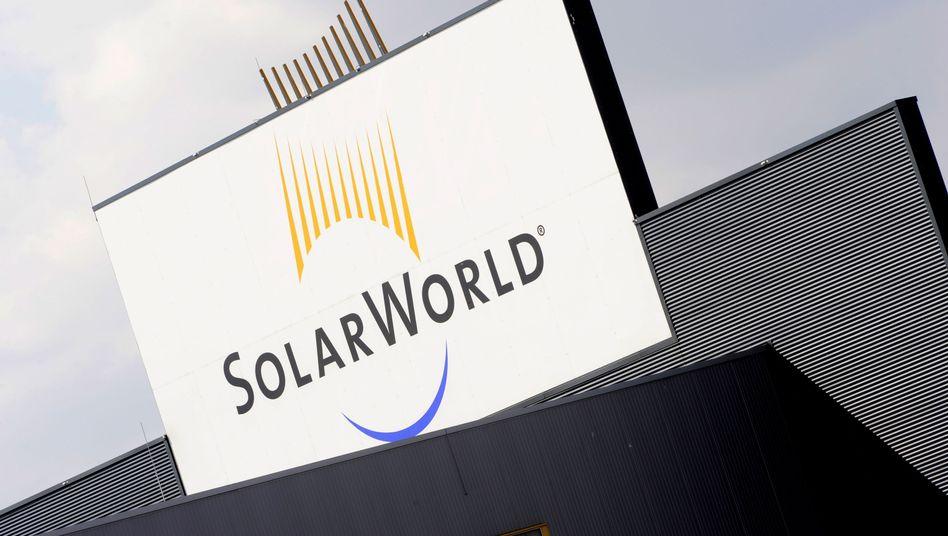 Gebäude der Solarworld AG im sächsischen Freiberg: Auf dem Heimatmarkt läuft es besser
