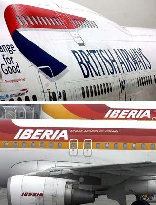 Künftig gemeinsam: Iberia und British Airways tun sich zusammen