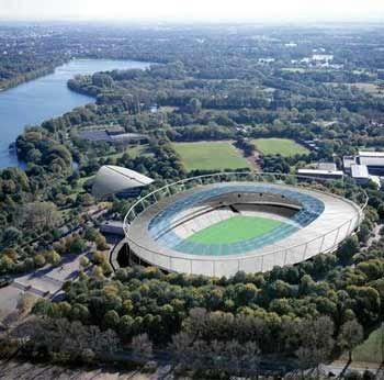 Hannover: Das Niedersachsenstadion von 1954