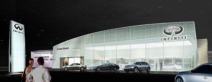 Markenauftritt: Schon die Autohäuser sollen bei Infiniti anders sein als bei der Konkurrenz