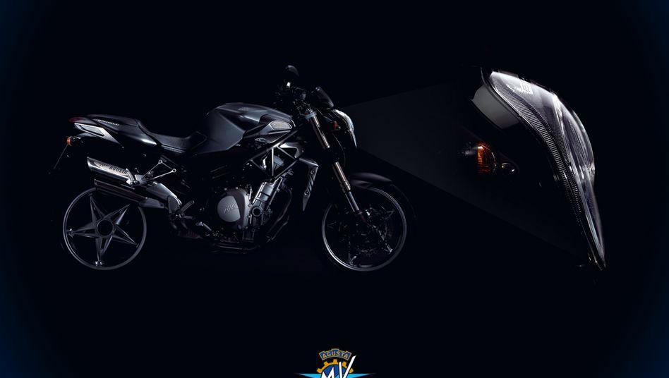 """Modell """"Brutale"""" von MV Agusta: Mittlerweile bietet der Sportmotorrad-Spezialist auch weniger brachiale Modelle an"""