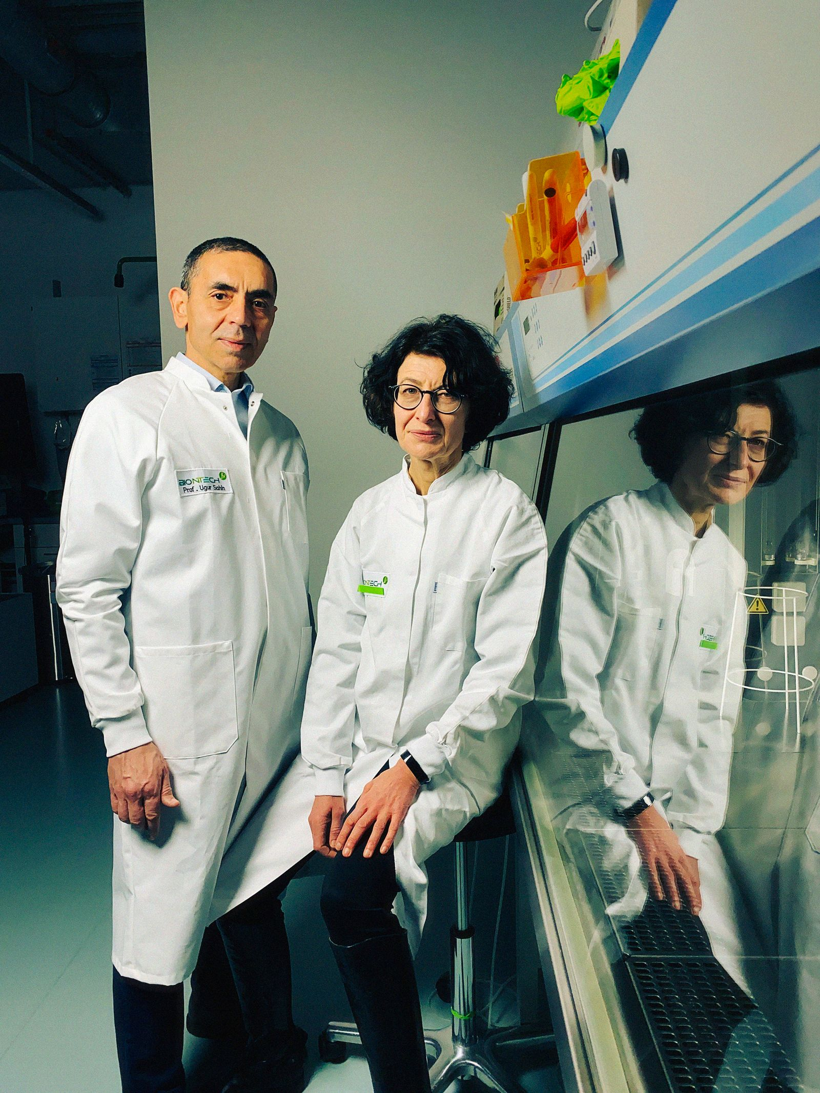 Dr. Ugur Sahin and Dr. ÷zlem T¸reci, BioNTech co-founders
