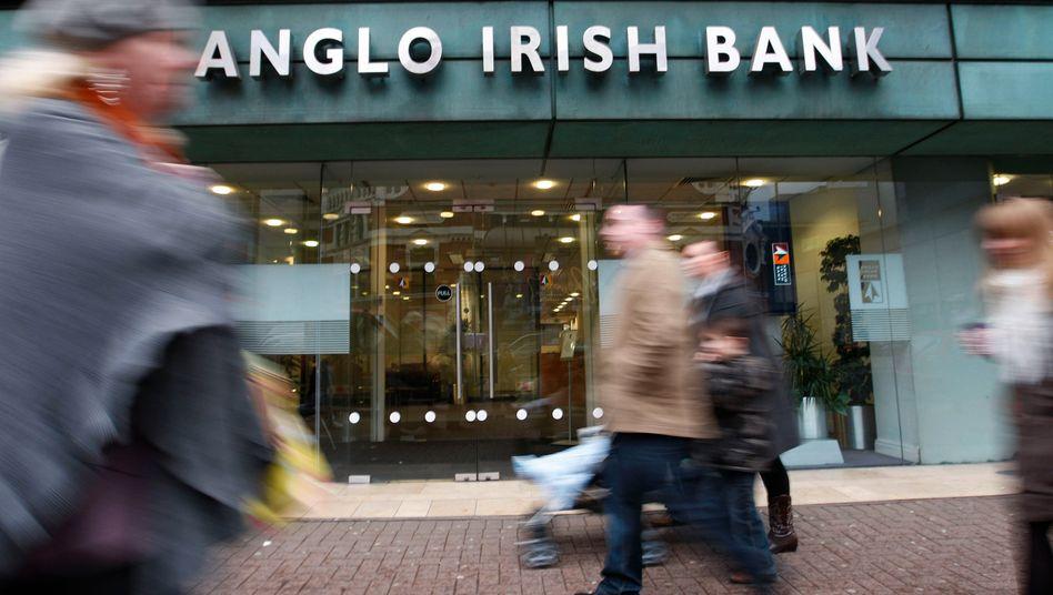 Die Anglo Irish Bank in Belfast: Streit gibt es über die Höhe der Schulden des Unternehmers bei der mittlerweile verstaatlichten Bank