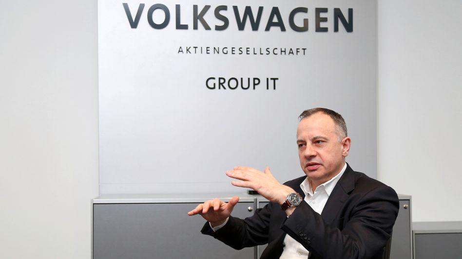 Volkswagen: IT-Chef Hofmann verlässt offenbar das Unternehmen