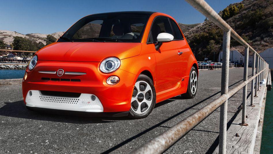 Fiat 500e: Der in Mini-Auflage produzierte E-Kleinwagen brachte Fiat nur Verluste ein - eine Neuauflage muss nun deutlich besser laufen