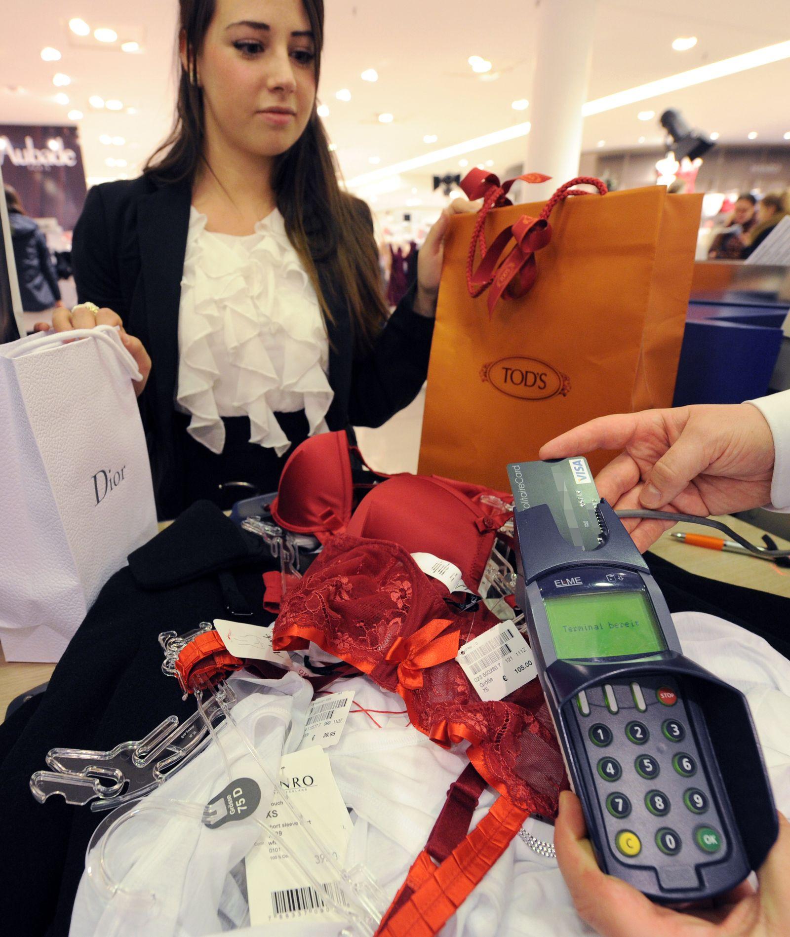 Verbraucherstimmung in Deutschland verbessert sich