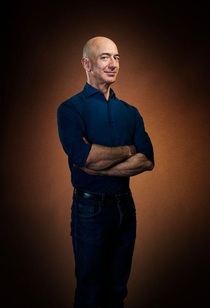 Er ist Amazon: Jeff Bezos.