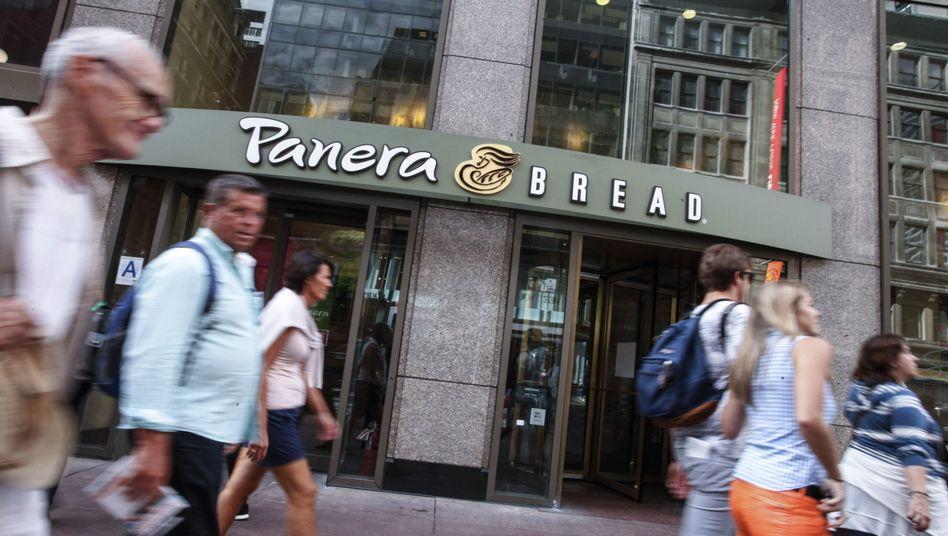 Panera-Geschäft in New York: Die Bäckereikette befindet sich im Visier der deutschen Milliardärsfamilie Reimann