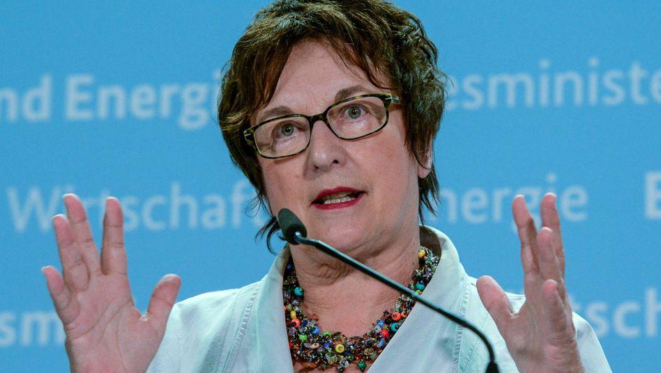 Brigitte Zypries (SPD), geschäftsführende Bundeswirtschaftsministerin
