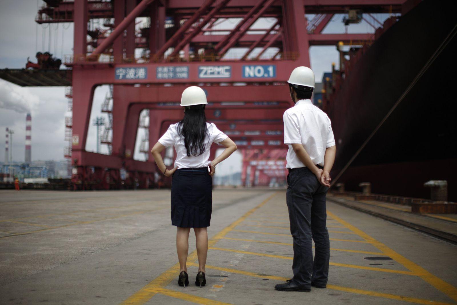 China / Wirtschaft / Hafen / Container