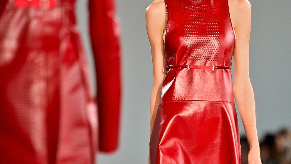 Calvin-Klein-Show auf der Fashion Week: Im Gegensatz zur Tech-Szene aus dem Valley gaukelt mir keines der Models auf dem Laufsteg vor, dass es unbedingt diesen neuen Fummel in Größe XXXS mit mir teilen will