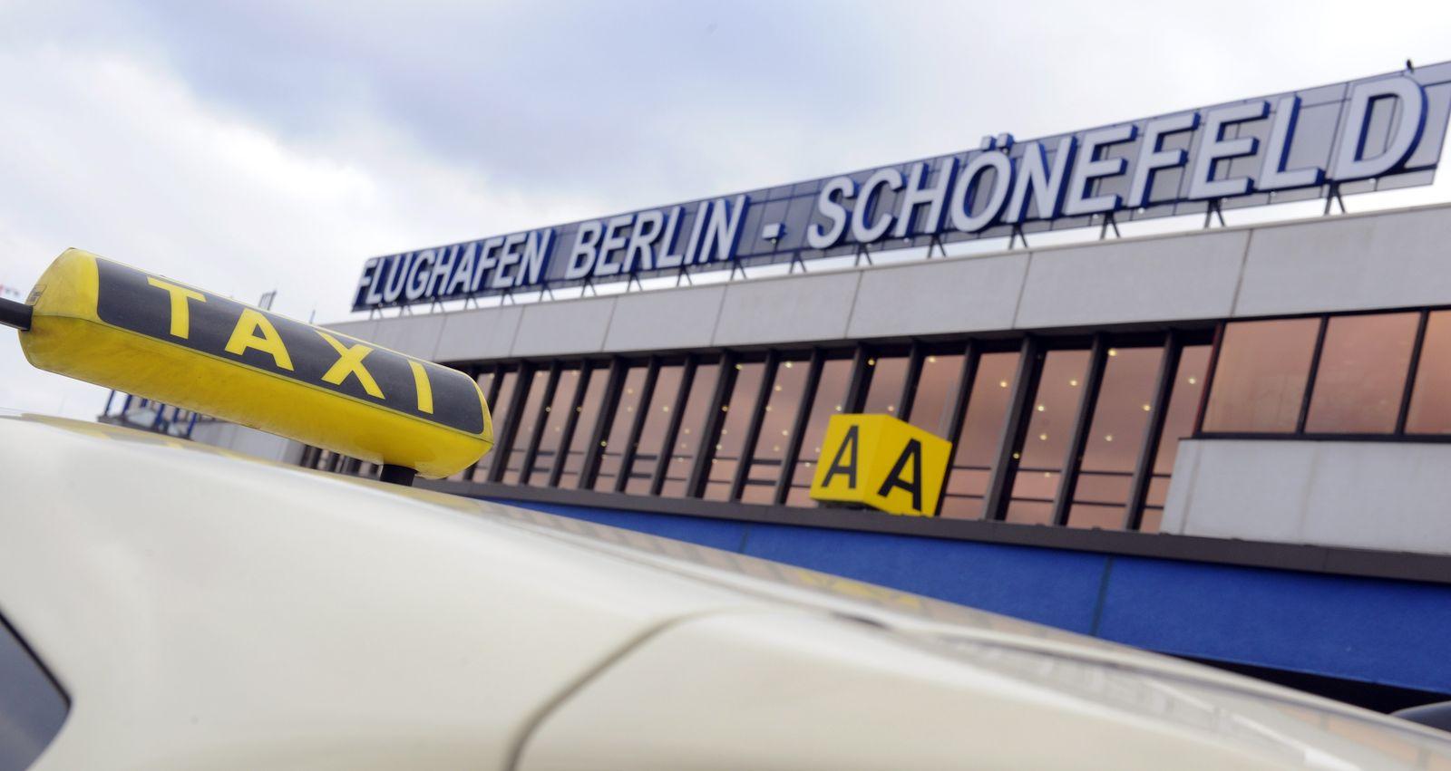 Taxifahrten zum neuen Berliner Flughafen