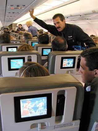 Live dabei: JetBlue-Passagiere verfolgen die Olympischen Spiele in Sydney (2000)